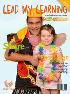 Lead My Learning Greenscreen image (Magazine Cover)