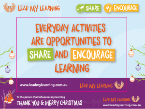 Lead My Learning magnet (photo frame) image