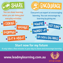Lead My Learning Drink Coaster Image