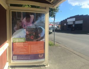 Lead My Learning Bus Shelter Advertisement Image