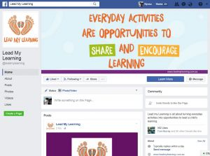 Lead My Learning Facebook page image